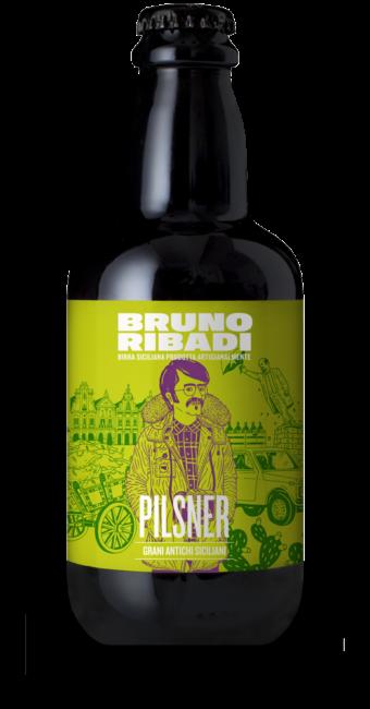 Pilsner Birra Artigianale Siciliana - Bruno Ribadi