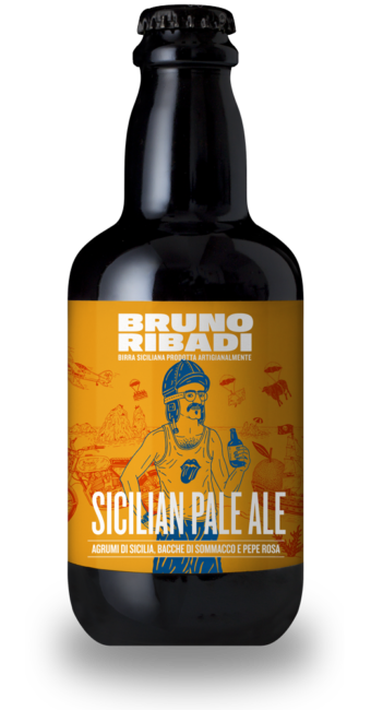 Sicilian Pale Ale Birra Artigianale Siciliana - Bruno Ribadi